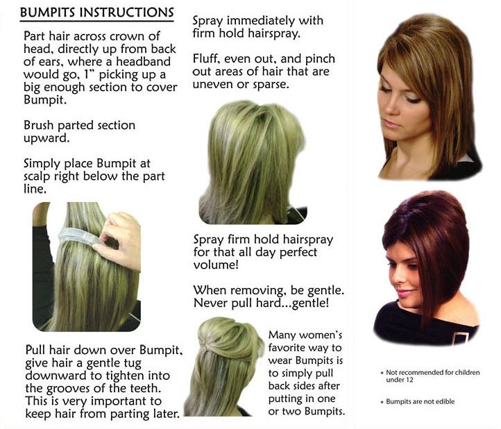 Bump Hair Short Hairstyle 2013